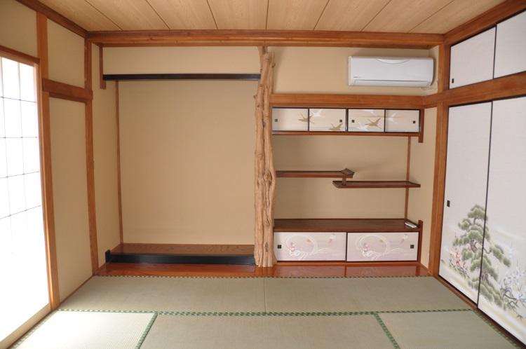 永島邸和室施工後