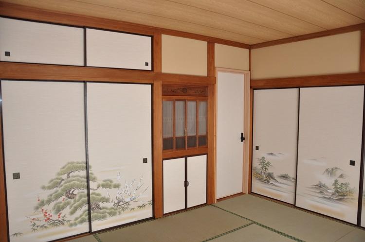 永島邸和室施工後2