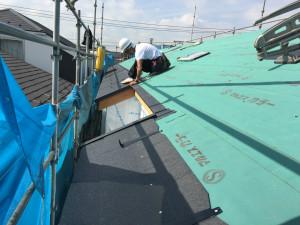 屋根工事②