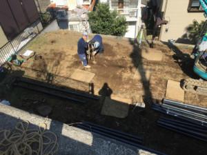 地盤改良工事①